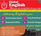 privat inggris ke rumah solo / surakarta  Convcersation, TOEFL, TOEIC, GMAT