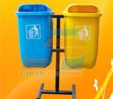 Tong sampah pilah tong sampah fiber organik