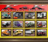 Karoseri Mobil & Truck Box { Besi - Alumunium - Pendingin }