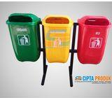 tong sampah fiber bekasi tong sampah 3 pilah