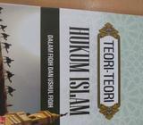 Teori Teori Hukum Islam Dalam Fiqih dan Ushul Fiqh - Medan Kota - Buku & Majalah