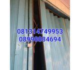 Bengkel pintu harmonika & rollingdoor 081314749953 Bekasi kota