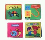 Buku Kain untuk bayi aman dan bisa dicuci 4 pcs - Denpasar Kota - Perlengkapan Bayi & Anak