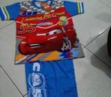 Cars cel pjg kaos pendek biru kuning 3-7 th.realpict - Jakarta Timur - Perlengkapan Bayi & Anak