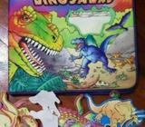Dinosaurs 3D Felt Playset Book - Jakarta Barat - Perlengkapan Bayi & Anak