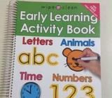 Early Learning Activity Book - Jakarta Utara - Perlengkapan Bayi & Anak