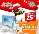 Promo Buku Halo Balita / Buku HB murah bekasi - Jakarta Timur - Perlengkapan Bayi & Anak