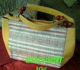 Tas wanita rose kuning ethnik batak DISC 10% - Bogor Kota - Fashion Wanita
