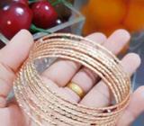 Xuping gelang keroncong lapis emas 18k 0509 - Palembang Kota - Perhiasan