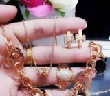 Xuping set lengkap lapis emas 24k 0616 - Palembang Kota - Perhiasan