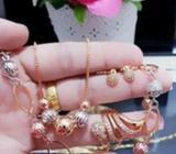 Xuping set perhiasan lapis emas 24k 0618 - Palembang Kota - Perhiasan