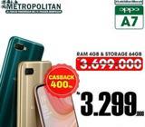 Oppo A7 cashback 400ribu - Denpasar Kota - Handphone