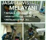 Abdi Teknik Service panggil Cuci Ac, Bongkar pasang Ac dll Bergaransi - Makassar Kota - Jasa