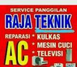 AC AISYAH JASA service cuci AC Kulkas M.cuci // bongkar pasang AC - Makassar Kota - Jasa