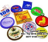 Souvenir Promosi Tatakan Gelas Karet Murah (Fat Back)
