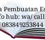 Jasa Pengerjaan dan Pembuatan Essay Bhs Inggris / Bhs Indonesia