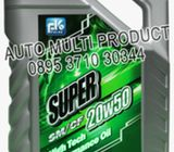 OLI, (OLI AMP) PULSE SUPER SM/CF, 20W50, 4 Liter