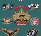Desain banner branding logo kemasan menu company profil undangan dll - Pekanbaru Kota - Jasa