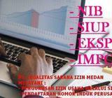 Biaya Pembuatan NIB (Nomor Induk Berusaha) Murah Di Medan/Deliserdang - Medan Kota - Jasa