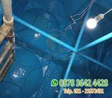 jasa perbaikan tangki air fiberglass roof tank