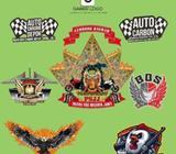 Desain banner logo kemasan menu company profil dll termurah banget - Bandar Lampung Kota - Jasa