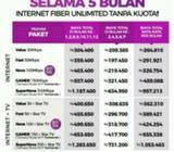 Internet Wifi & TV Kabel Myrepublic Super Cepat - Palembang Kota - Jasa