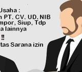 URUS TDP, Urus NIB, Jasa Izin Usaha, Pendirian Perusahaan - Medan Kota - Jasa
