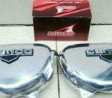 Bok/Tutup Aki Alumunium Poles Krom Honda CB100/Japs/Tiger/GL dll - Yogyakarta Kota - Motor