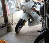 ninja rr 2010,ss lengkap,pajak & plat hidup, bk medab - Asahan Kab. - Motor Bekas