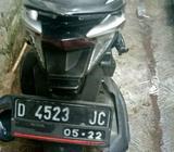 Dijual cepat motor vario techno 125cc thn 2012,surat-surat komplit - Bandung Kota - Motor Bekas