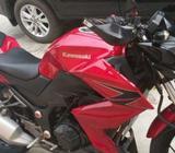 Ninja Z250, tahun 2013 warna merah - Banjarbaru Kota - Motor Bekas