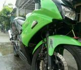 Kawasaki ninja rr tahun 2012 barang mulus no minus - Bekasi Kab. - Motor Bekas