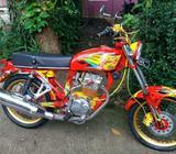 HONDA CB/CG 125 full Upgrade 200 Cc Up - Bogor Kab. - Motor Bekas