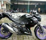 Kawasaki z250 2013 pjk hidup bgr kota/tuker tambah PCX / NMAX / mt25 - Bogor Kota - Motor Bekas