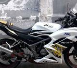 New ninja rr se th 2012 putih mulus orisinil - Jakarta Utara - Motor Bekas