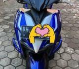 Aerox blue core mulus - Jambi Kota - Motor Bekas