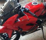 Ninja 2012 jarang pakai mulus kilometer 8000 - Lamongan Kab. - Motor