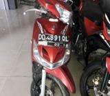 Dijual motor yamaha Mio sporty 110 karbu merah thn 2011,hrg bisa nego - Makassar Kota - Motor Bekas