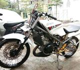 Ninja krr 2012 mulus - Makassar Kota - Motor Bekas