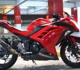 Ninja 250 Fi Thn 2012 akhir/Cati tt ninja RR - Palembang Kota - Motor Bekas