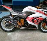 Dijual cepat ninja 250 cc dobel piston, full modif barang istimewa - Purworejo Kab. - Motor Bekas