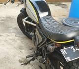 Yamaha Scorpio 2007 Custom Scrambler Japstyle Plat H - Semarang Kota - Motor Bekas