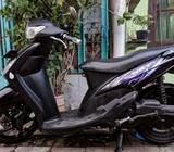 Mio 2011 Hitam Sporty - mesin halus terawat. Nego - Surabaya Kota - Motor Bekas