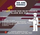 We're hiring, Alarm Maintenance. - Sidoarjo Kab. - Lowongan