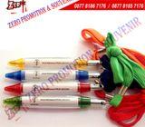 Souvenir Pulpen Bolpoin Pen Promosi Cabe Tali