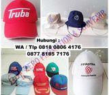 Topi promosi, topi murah, topi sablon, topi bordir Termurah