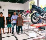 Paket Usaha AutoLift 2 Hidrolik Sepeda Motor - Jambi Kota - Kantor & Industri