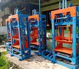 Mesin pres batako ukuran 30x15x10 bisa request - Jambi Kota - Kantor & Industri