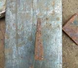 Besi plat bentuk betel, p 6,5cm x l 5cm x tebal 1,5cm depan 0,5cm - Semarang Kota - Kantor & Industr