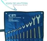 Kunci ring pas set 11pc BTI 8-24mm combination spanners raised panel - Jakarta Barat - Kantor & Indu